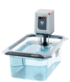 Bagno termostatico con vasca trasparente CORIO PLEXI