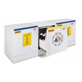 Chemisafe - Armadi combinati per prodotti pericolosi Underbench a tre cassetti